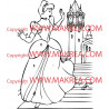 Sticker Cendrillon 10