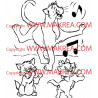 Sticker Les Aristochats 2