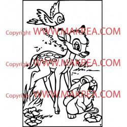 Sticker Bambi 2