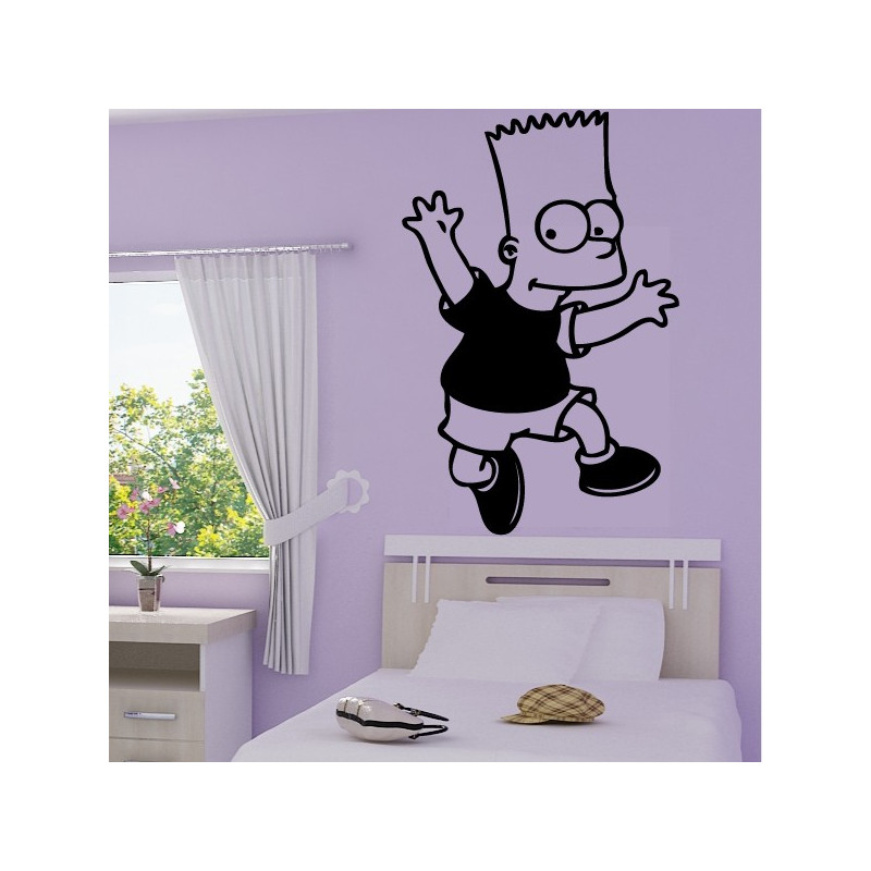 Sticker Simpson Bart