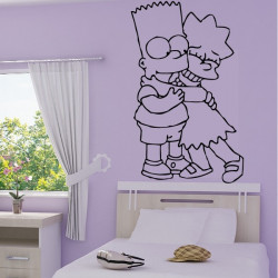 Simpson Bart et Lisa