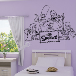 Sticker Simpson Famille 3