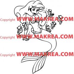 Sticker La Petite Sirène