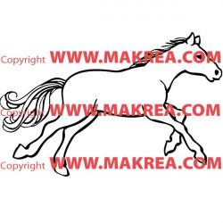 Sticker Cheval 2