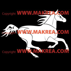 Sticker Cheval 3