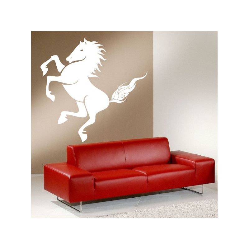 Sticker Cheval 4