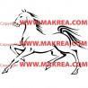 Sticker Cheval 8