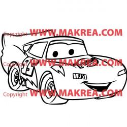Sticker Voiture Cars