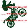Sticker Moto Cross 2