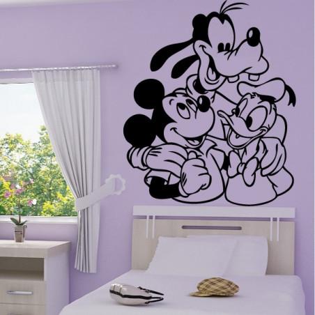 Mickey - Donald et Dingo