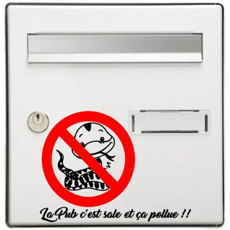 Sticker Boite aux lettres Serpent