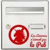 Sticker Boite aux lettres Licorne