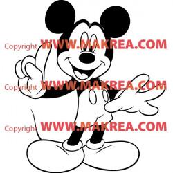 Sticker Mickey 2