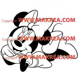 Sticker Minnie 3