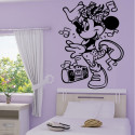 Sticker Minnie musique