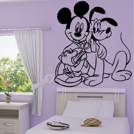 Mickey Mouse et Pluto