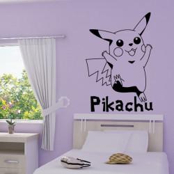 Pokémon - Pikachu + écriture