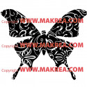 Sticker Papillon Design 4