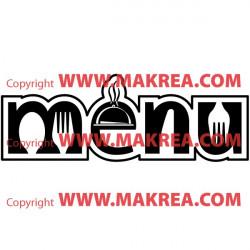 Sticker Menu