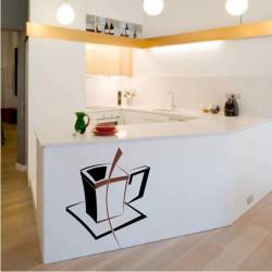 Tasse Carré Design bi-color