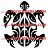 Sticker Tortue Tribale