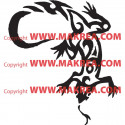 Sticker Salamandre Tribale