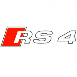 Sticker Logo Audi RS 4