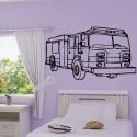 Sticker Camion de Pompiers