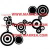 Stickers Suite de Cercles