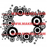 Stickers Rond de Cercles