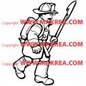 Sticker Pompier 2