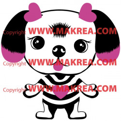 Sticker Dogs - Chien