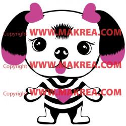 Sticker Dogs - Chien