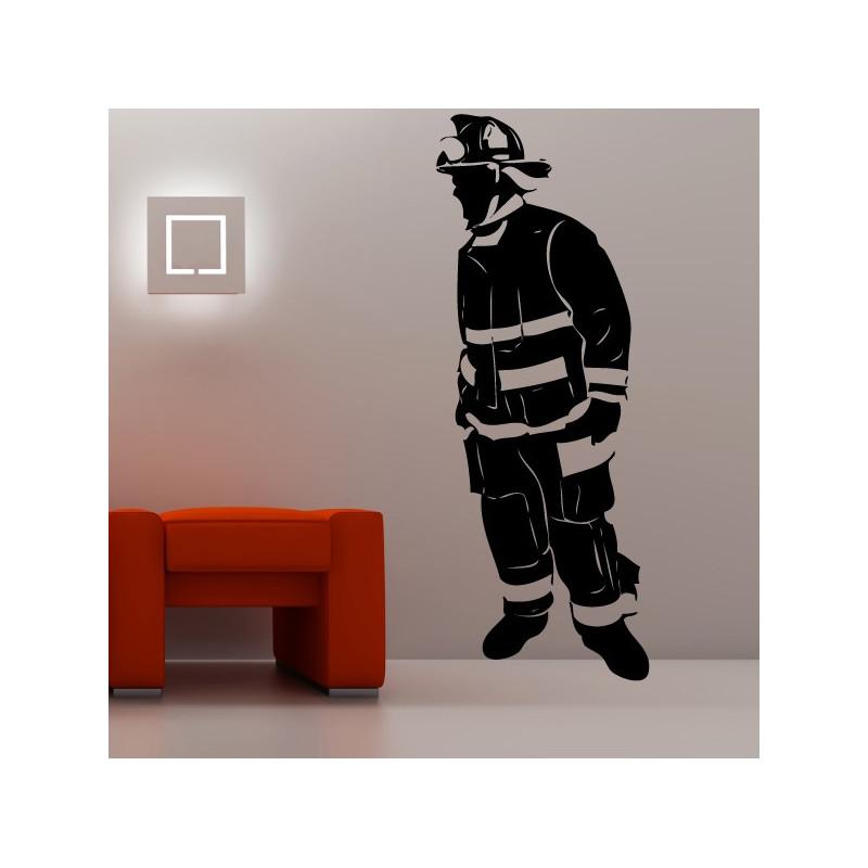 Sticker Pompier 3