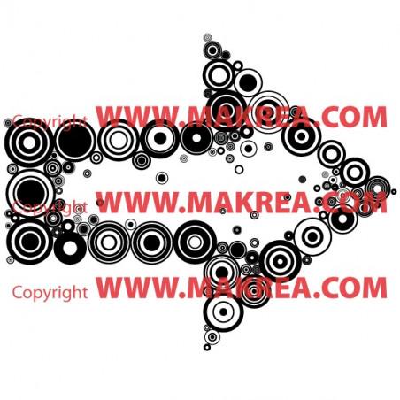 Stickers Flèche de Cercles
