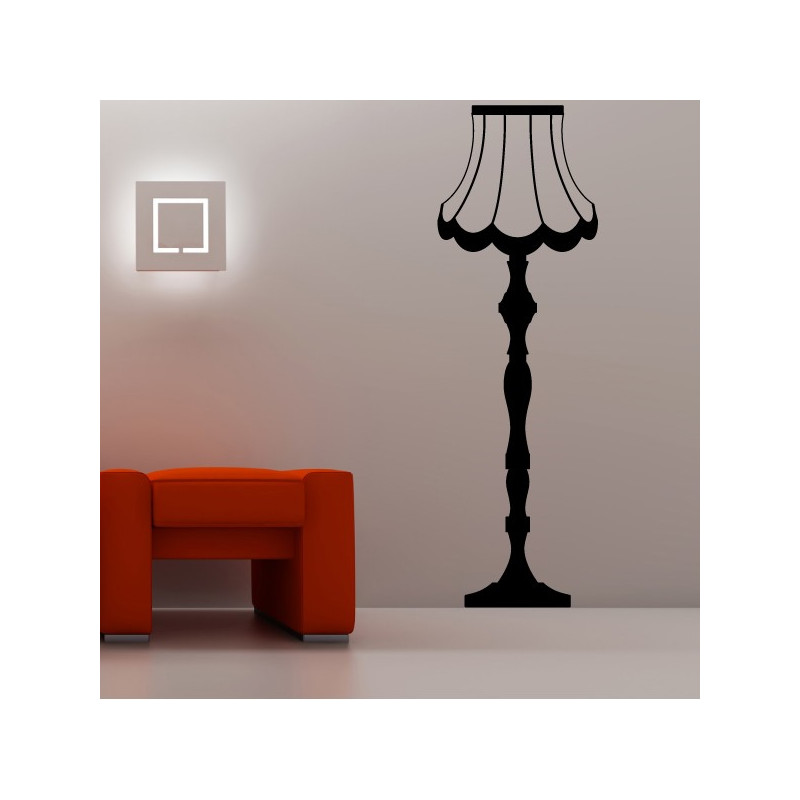 Sticker Lampe Baroque