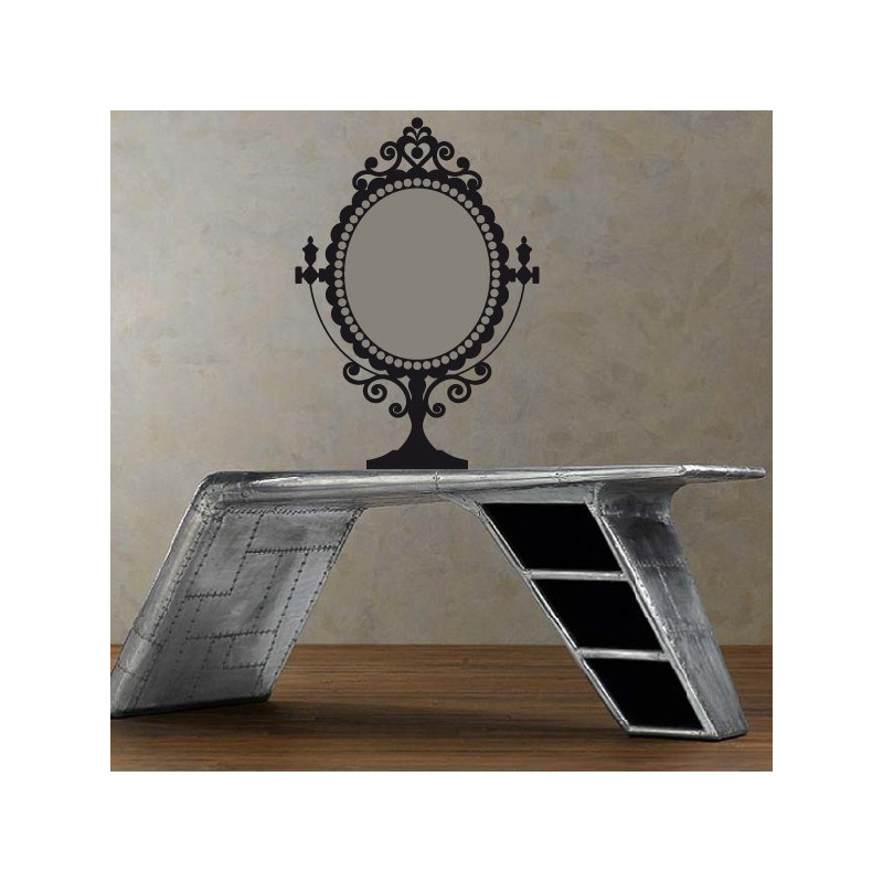 Sticker Miroir sur pied Baroque