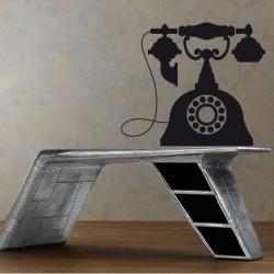 Vieux téléphone Baroque