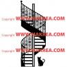 Sticker Montée d'escaliers Fer Forgée