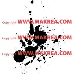 Stickers Tâches de peinture 4