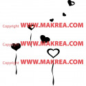Sticker Coeur Ballon