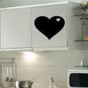 Sticker Coeur ardoise