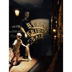 Sticker Vitrine Black Friday Sale