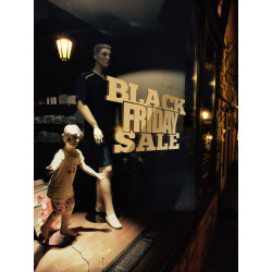 Sticker Vitrine Black FRIDAY Sale