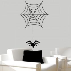 Sticker Toile d'araignée Halloween