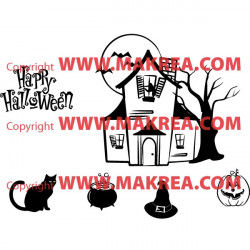 Sticker Pack / kit Halloween