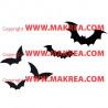 Sticker Pack / kit Halloween Chauves-souris