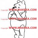 Sticker Winnie Rigole