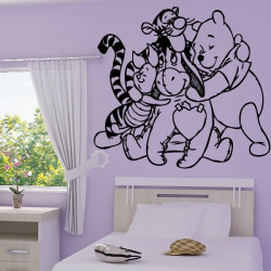 Sticker Winnie et ses amis 3