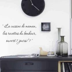 Cuisine - La cuisine de maman, les recettes du bonheur, ouvert 7 jours/ 7